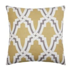 """Linx Pillow 24"""" - Pewter from Z Gallerie"""