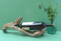 Driftwood Sculpture Wine Display Driftwood by DivineDriftwood, $24.90