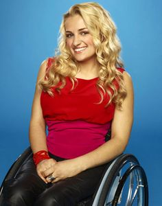 Paralyzed from the chest down, Ali Stroker has used a wheelchair since the age of 2 and hopes to inspire those with disabilities who dream of being performers. (Glee guest star)