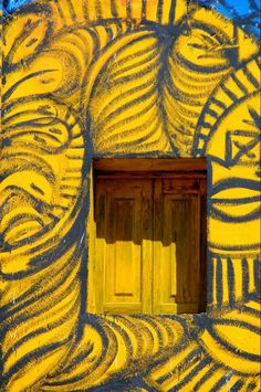 Havana, Cuba yellow window