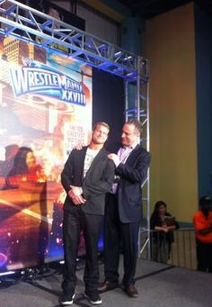Scott Stanford and Dolph Ziggler. Too much sexy in this photo.