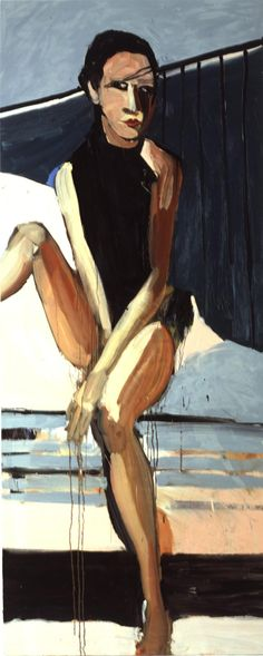 Chantal Joffe - Snowy Car