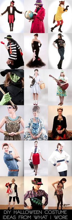 41 Best Halloween DIY Costume Ideas and Hair Tutorials. Love that these are modest, so over the 'sexy' version of everything.