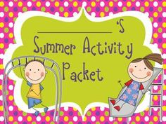 classroom idea, students, summer activities, student engag, teacher pay, pay teacher, activ packet, prints, teachers