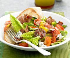 BLT Salad with Vinaigrette