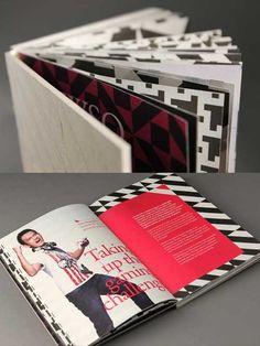 printed brochure design book bound with organizer