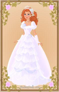 Giselle { Wedding Dress } by kawaiibrit.deviantart.com