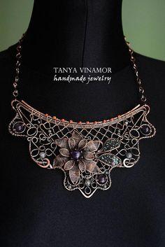Necklace   Tanya Vinamor... stunning!!