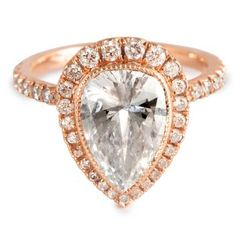 custom engagement ring by jamie wolf