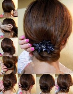 EZ hair style WOW Easy does it.
