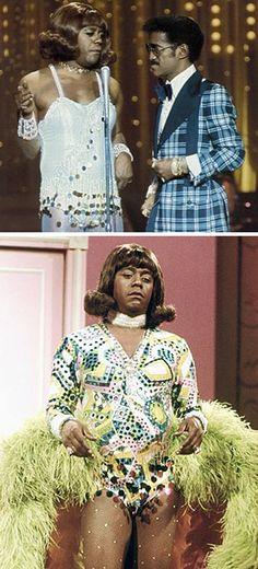 Flip Wilson as Geraldine Jones with Sammy Davis Jr.