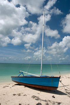 """Beached Sailboat, Cat Island, Bahamas"" by Shane Pinder | Redbubble"