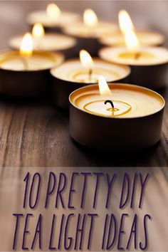 10 DIY Tea Light Holders