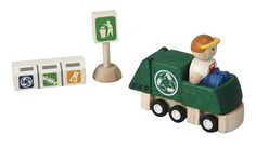 Recycling Truck from Plan Toys