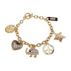 Perfect Coach Elephant Charm Gold Bracelets ALK Enjoy Great Discounts For Our Customers! #ChatWithCoach #Love