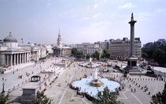 Trafalgar Square in City of Westminster, Greater London. Image credit: http://bit.ly/1mpOedL