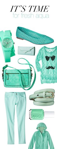 Ring in the first day of #spring with a splash of aqua