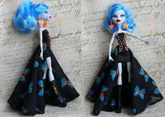 dress for Monster High Doll Monster High Clothes by MonstersNight