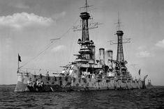 USS New Jersey, 1918