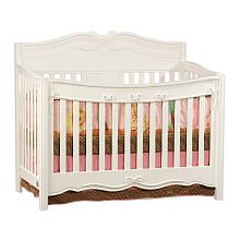 Disney Princess Enchanted Convertible Crib - White
