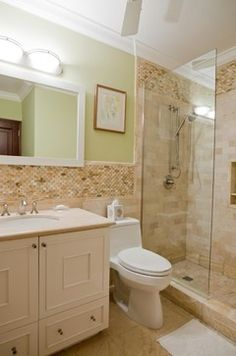 Seaside Lagoon Villa - tropical - bathroom - other metro - RUMA