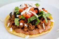 Healthy 204-Calorie Mexican Pizza Recipe
