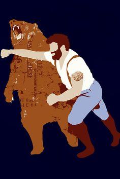 Bear vs. beard!