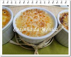 COZINHA DA MONICA: Creme de tapioca Brulée com iogurte Activia Maracujá