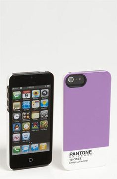 Pantone Universe' iPhone 5 case. WANT THIS.