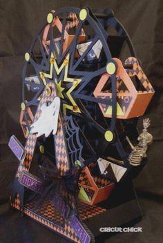 Cricut Chick: Halloween Ferris Wheel ...