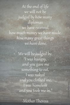 Mother Theresa quote mother theresa quotes