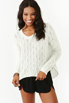 Bijou Knit Pullover #newclothes #topmode #Pullover #anoukblokker #newstyle #womenwinter    www.2dayslook.com