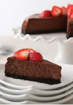 Our Best Chocolate Cheesecake -- For your friends and family, nothing but the best will do. When it comes to dessert, this rich, creamy chocolate cheesecake recipe with a chocolate cookie crust tops the list.