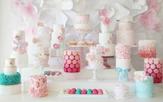 I absolutely LOVE this a collaboration of Australian Cake makers for Mother's day, Cake Heaven! seen in Blissfully Sweet's Magazine
