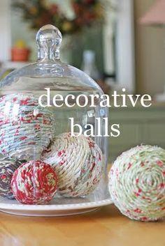 Decorative Balls #DIY