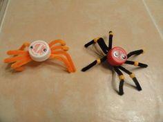 Bottlecap Spiders