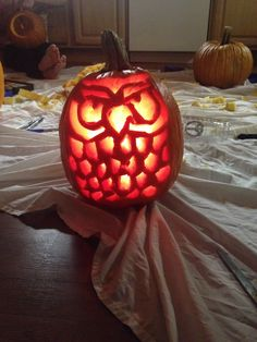 {Pumpkin carving}  #halloween #jackolantern