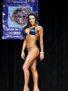 Sarah Ingmanson 2012 Jay Cutler Desert Classic Bikini Masters 35+ Class Winner