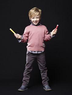 Un #pantalón #recto a #rayas perfecto para celebrar la #Navidad ¡y todo lo que quieras!