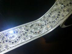 DIY Bridal Sashes and Belts :  wedding accessories belt diy sash IMG 20111126 00266 diy belt, bead belt, ribbon