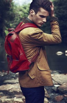 Nice jacket and backpack!