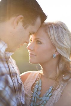 Gorgeous engagement photo. Show off your wholesale diamond ring for your wedding day! [ 1diamondsource.com ] #wholesale #diamond #quality
