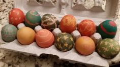 Dyed Brown Easter Eg