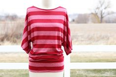 Simple Dolman Style Top with Banded Bottom