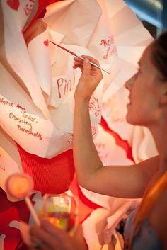 Painting the roses Red.  #altsf #pinterland #juvenilehalldesign http://www.flickr.com/photos/alt_design_summit/