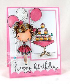 Cupcake Cutie Die-namics; Simply Scallops Small Die-namics