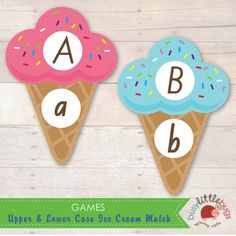 Upper & Lower Case Alphabet Matching Game