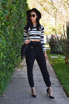 Check out this Good Vibes Only look on styleeverydamnday.com Love these #fabfound @marshalls pants