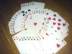 Card games are worth 1000 math worksheet...math games using a deck of cards.
