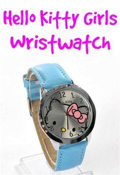 Hello Kitty Girls Watch Sale: $4.86 + FREE Shipping!!